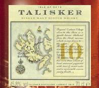 scotch label talisker